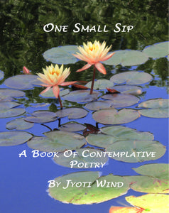 One Small Sip: A Book of Contemplative Poetry (by Jyoti Wind)