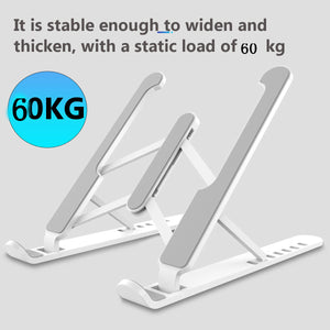 Bakeey P1 Pro Portable Aluminum Foldable Height Adjustable Stand Heat Dissipation For Macbook Laptop Notebook 11.0 - 17.0 Inch