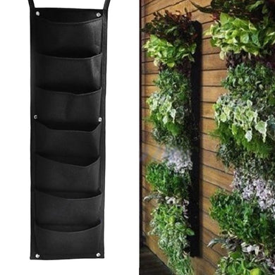 Hanging Vertical Garden Planter with 7 Pockets
