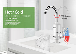 Kitchen Faucet Water Heater - Instant Hot Water - KBAYBO