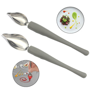 Chef Saucier Spoons - Sauce Decoration - HOUSEEN