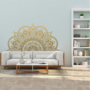 Wall Stickers - Half Mandala - COCOPLAY