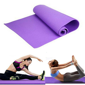 Yoga Mat - Large Foam Exercise Pad - 6mm Thick