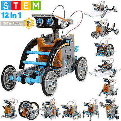 Educational Toy - 12 in 1 Solar Powered Robots - STEM Toys [FREE SHIPPING]