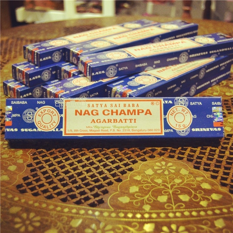 Nag Champa - Indian Sandalwood Stick Incense - SATYA SAI BABA