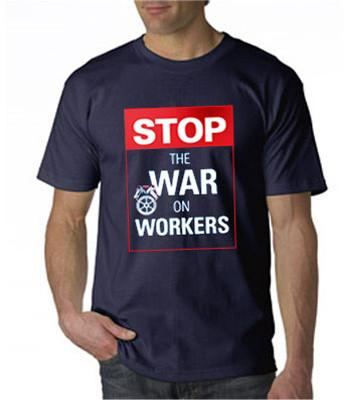 Stop the War Navy T-Shirt