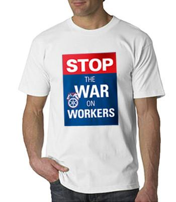 Stop the War White T-Shirt