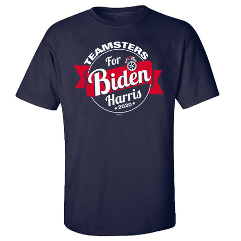 Teamsters for Biden Harris Tee
