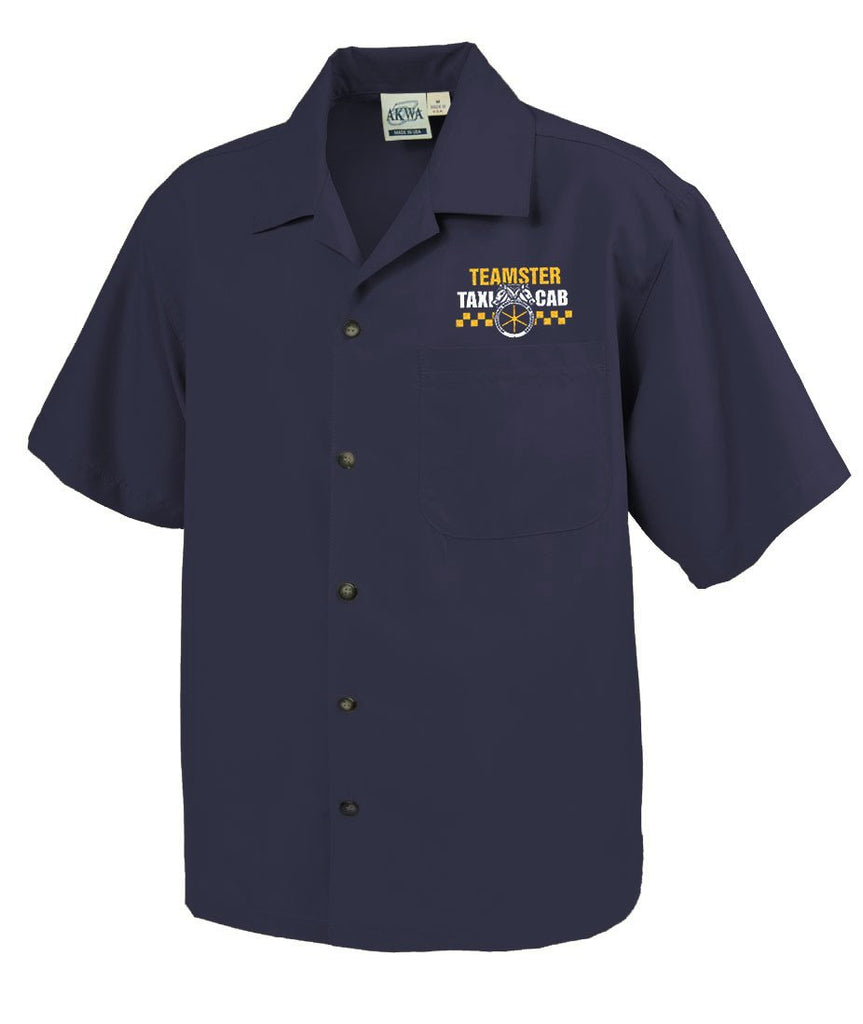 Teamster Taxi Camp Shirt