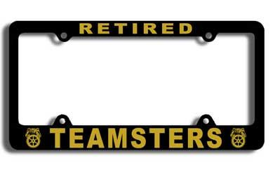 Retiree License Plate Frame