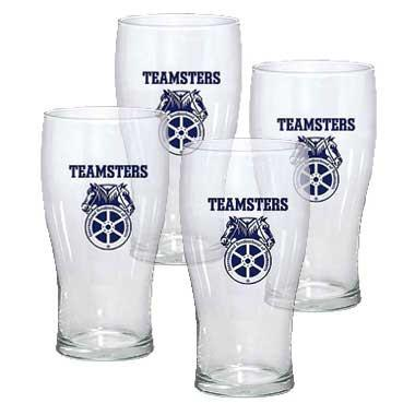 Set of Four Pub Glasses