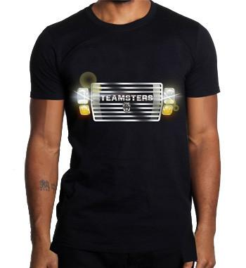 Teamsters Truck Grille T-Shirt