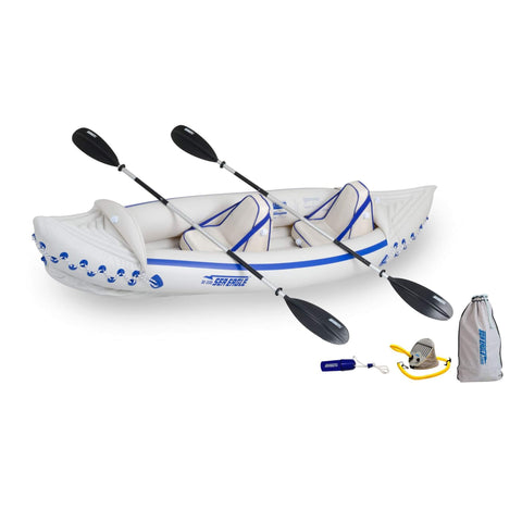 Sea Eagle SE 330 Pro 2-Person Inflatable Kayak Package - Goodland Outdoors