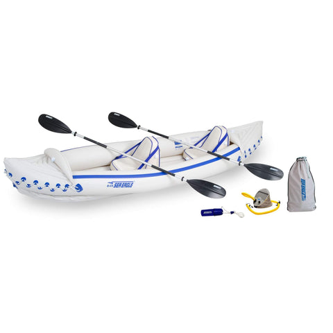 Sea Eagle SE 370 Pro 2-Person Inflatable Kayak Package - Goodland Outdoors
