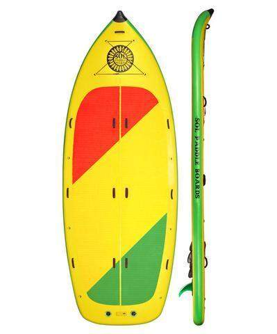SOL Paddle Boards SOLfiesta Inflatable SUP - Goodland Outdoors