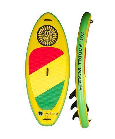 SOL Paddle Boards SOLjah Inflatable SUP - Goodland Outdoors