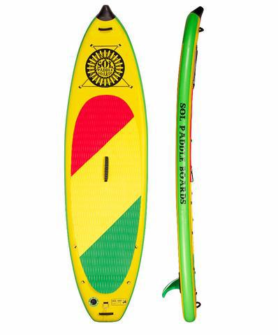 SOL Paddle Boards SOLrebel Inflatable SUP - Goodland Outdoors