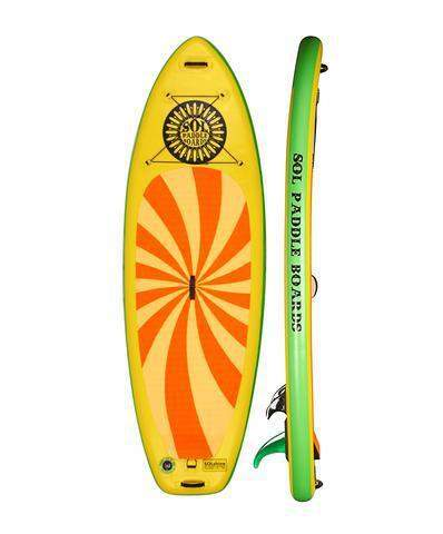 SOL Paddle Boards SOLshine Inflatable SUP - Goodland Outdoors