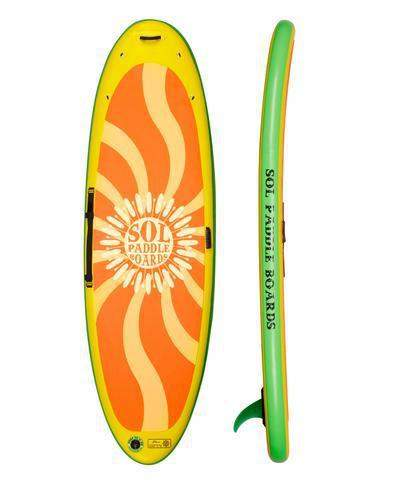 SOL Paddle Boards SOLshiva Inflatable SUP - Goodland Outdoors