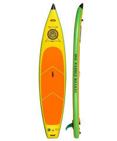 SOL Paddle Boards SOLsonic Inflatable SUP - Goodland Outdoors