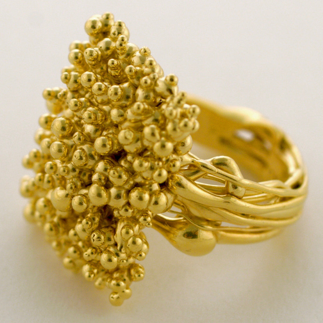 Caviars Stringy Ring