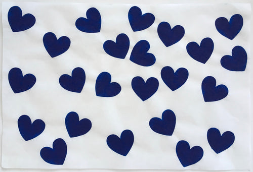 23 Feeling Blue Hearts