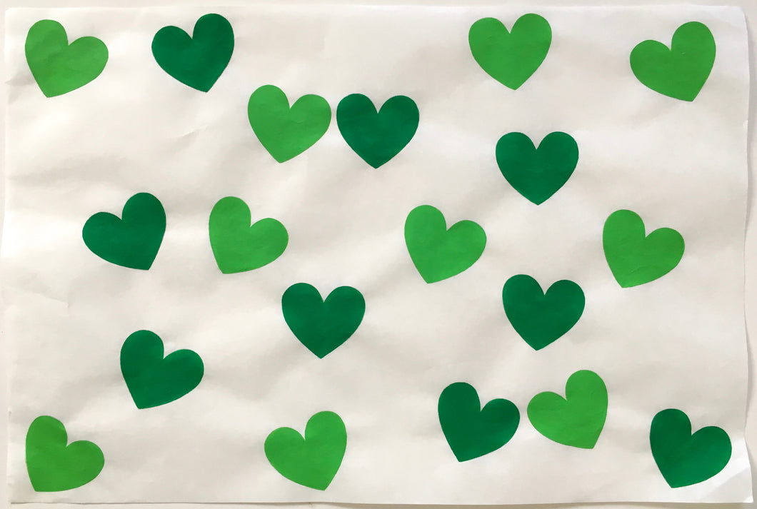 19 Hearts, Green and Green