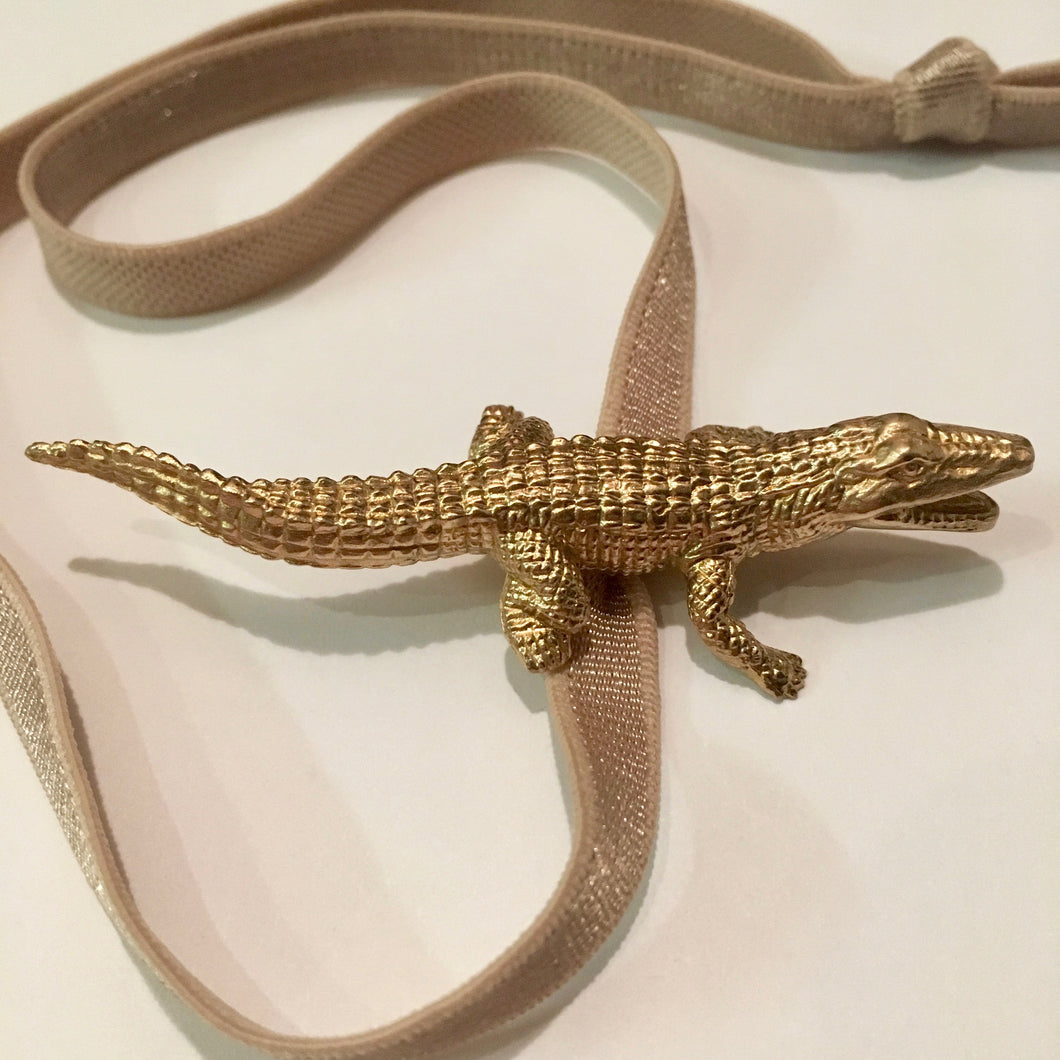 Crocodile Headband