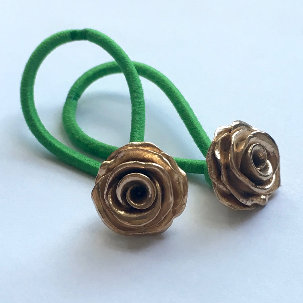 Pair of Roses Hairbands