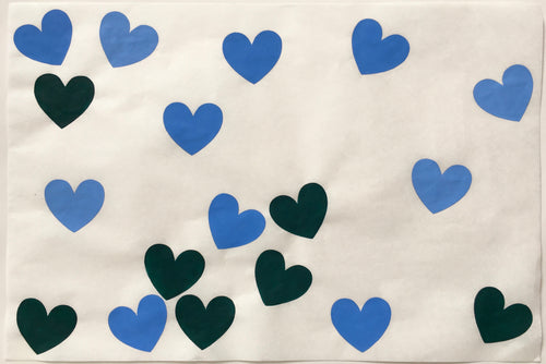 18 Hearts, Blue Green