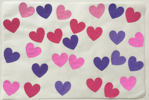 28 Hearts, Pinks and Purples