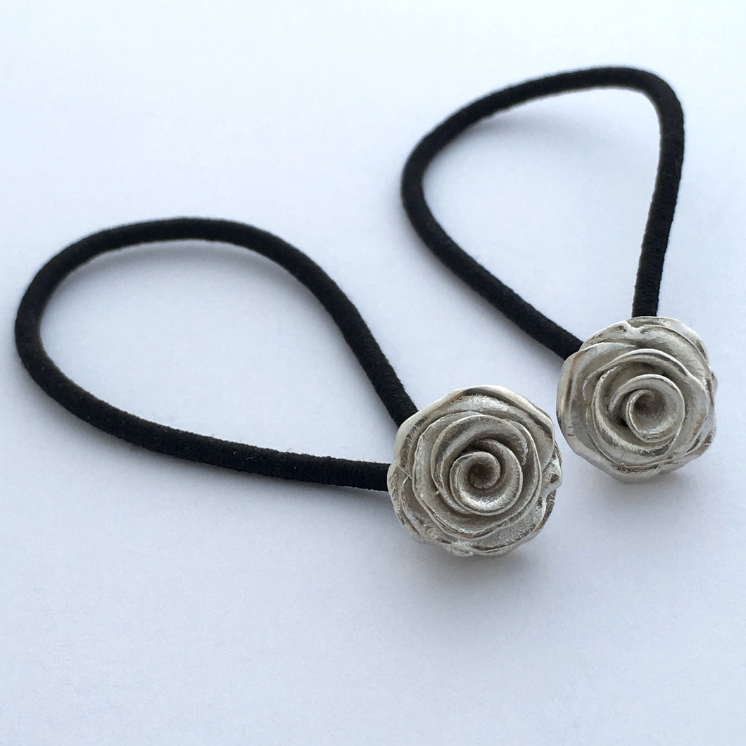 Rose Hairbands, Pair