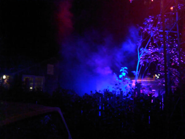 Halloween Santa Cruz Special Effects Outdoor Lighting