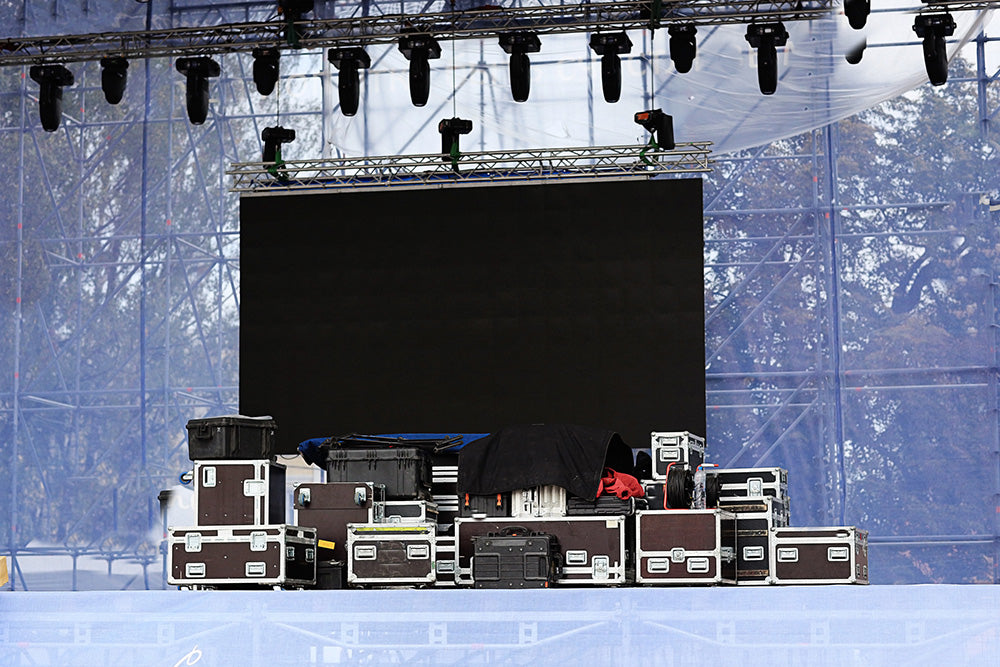Lighting package rental and setup for concerts and events