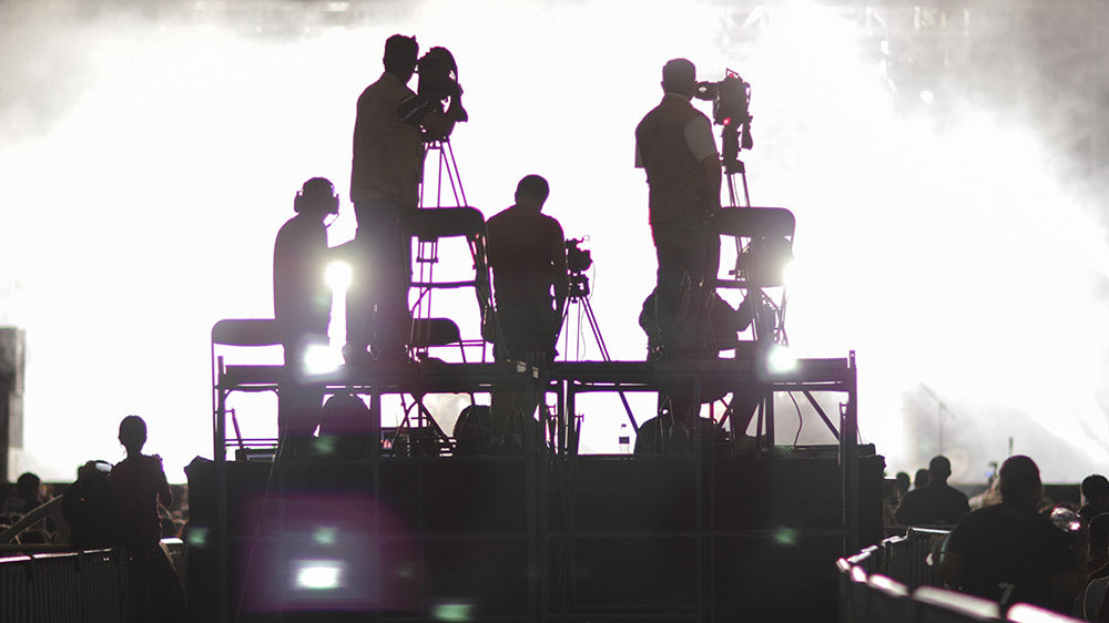 Video Stagehand Crew for Hire