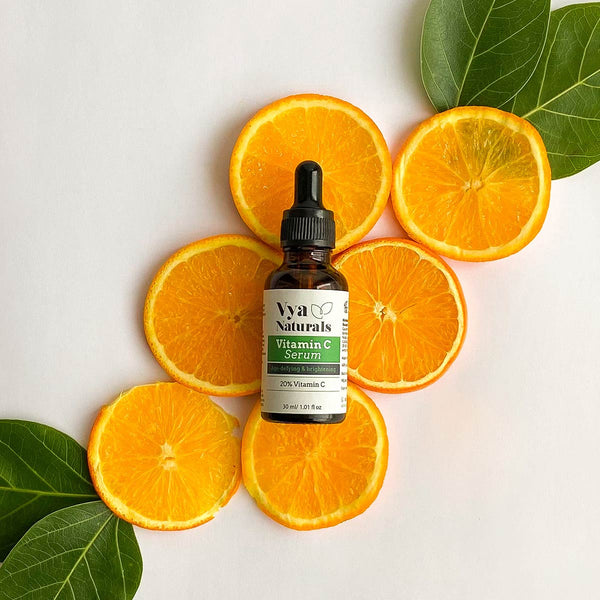 Vya Naturals Vitamin C Serum (with Aloe Vera and Witch Hazel Extracts)