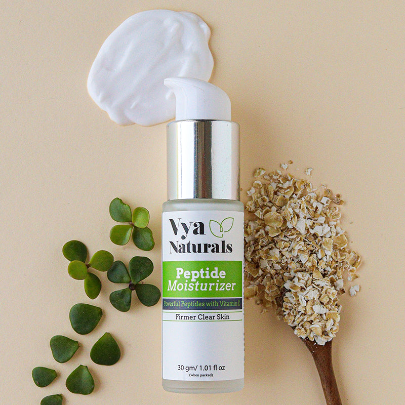 Vya Naturals Multi-Peptide Moisturizer for Collagen Boost