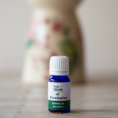 100% Pure Unblended Eucalyptus Essential Oil - Vya Naturals