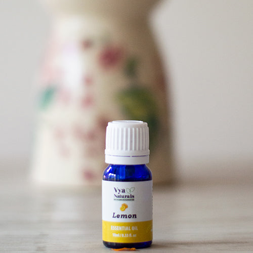 100% Pure Unblended Lemon Essential Oil - Vya Naturals