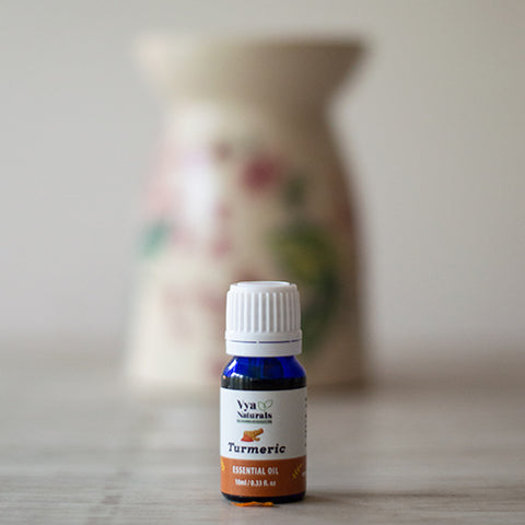 100% Pure Unblended Turmeric Essential Oil - Vya Naturals
