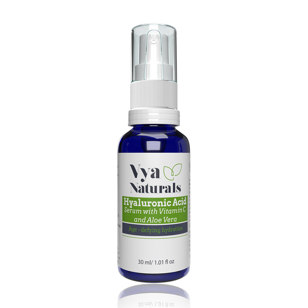 Hyaluronic Acid Serum (with Vitamin C & Green Tea) 30ml