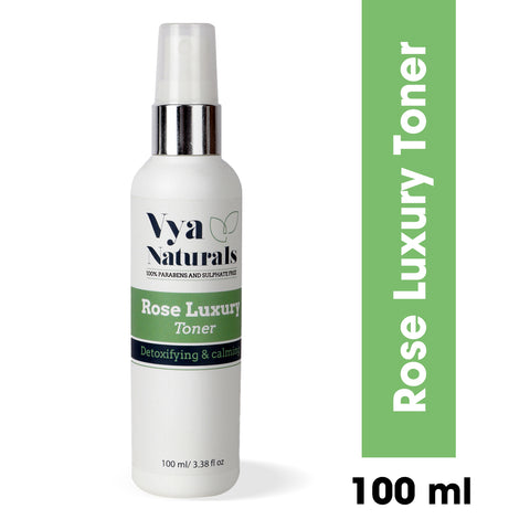 Vya Naturals Rose Luxury Toner 100ml