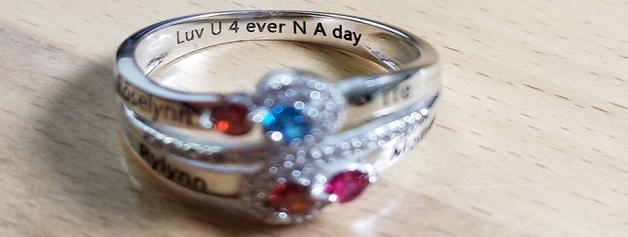 4 ever and ever mothers ring