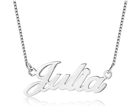 cut out nname necklace julia