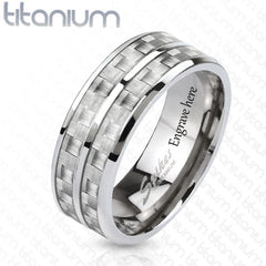 titanium mens promise ring