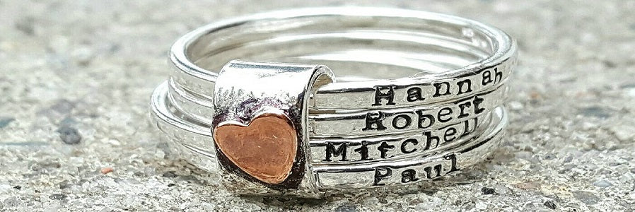 engraved mothers ring