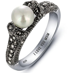 pearl promise ring