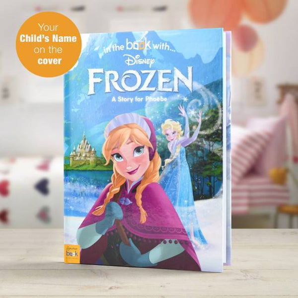 Personalized Disney Frozen Story Book Kids love it - Think Engraved