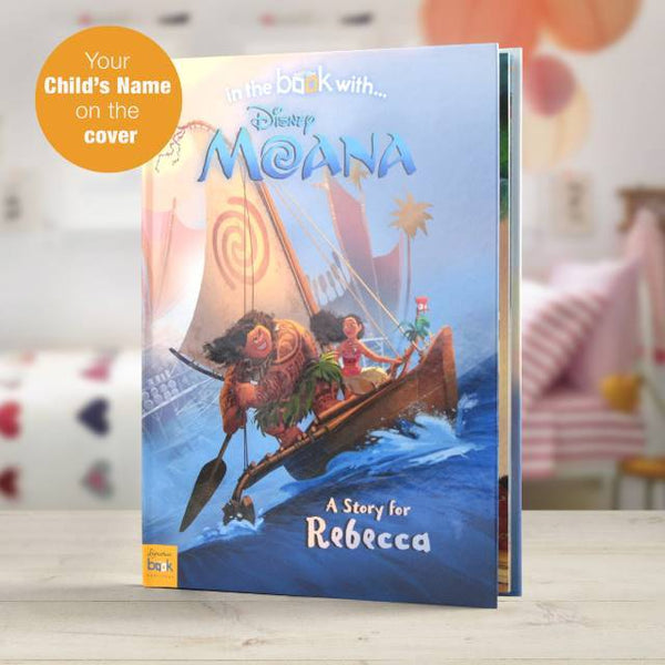 Personalized Disney Moana Story Book Great kids book - Think Engraved