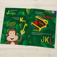 Your Child In Alphabet World Personalized Book - Think Engraved